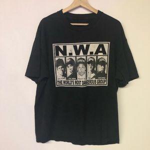 Vintage NWA T-shirt Sz L